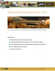 FFSG newsletter front cover - July 2012