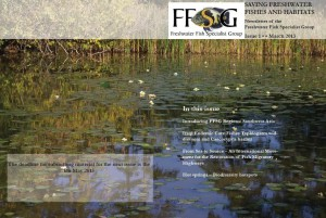 FFSG newsletter front cover - Mar 2013