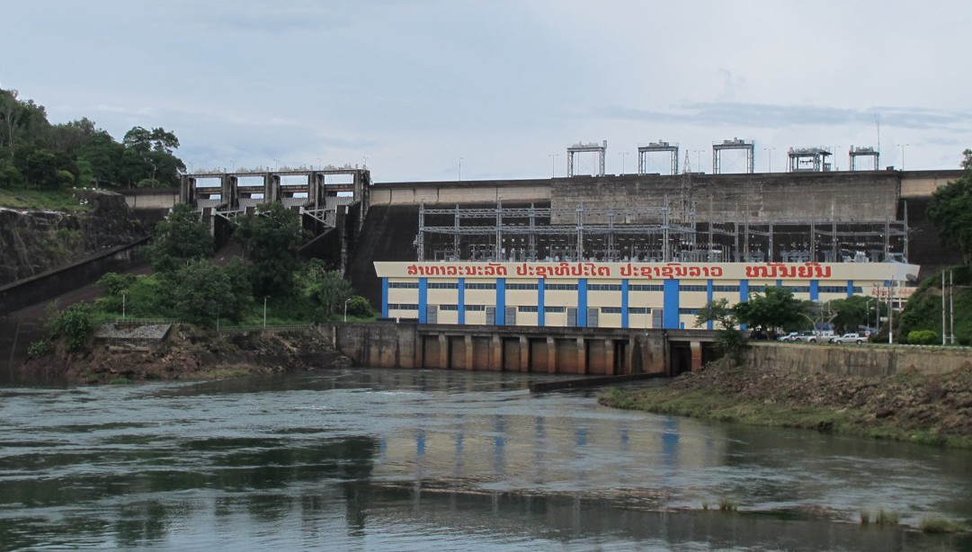 Nam Ngum 1 Hydropower project, I believe it was the first dam constructed in Lao PDR.