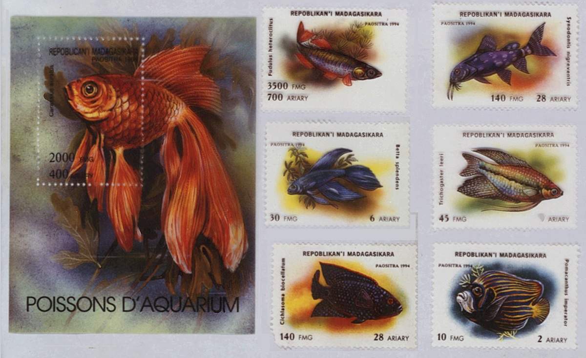 Stamps from Madagascar