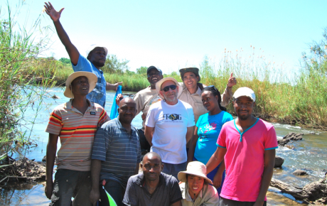 Paul Skelton & KIFI team_Kavango River_Nov2013
